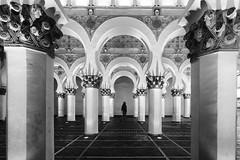 In Sinagoga a Toledo (mariateresa toledo) Tags: archi arches simmetria symmetry sinagoga synagogue santamaríalablanca toledo spagna spain sonynex7 biancoenero blackwhite mariateresatoledo dsc00353