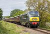 D832 at Hampton Loade 18.05.2018 (Wolfie2man) Tags: svrdieselgala2018 hamptonloade class42 maybach severnvalleyrailway warship onslaught d832