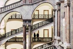 Conspiracy - Explore # 83 (entry) (**capture the essential**) Tags: 2017 architecture architektur fotowalk häuserwohnungen innenarchitektur interior interiordesign munich münchen sonya6300 sonyfe1635mmf4zaoss sonyilce6300 staircase stairs treppen treppenhaus