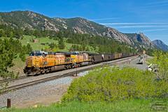 CEYKS9-21 at Plain (ColoradoRailfan) Tags: upmoffattunnelsub moffattunnelsub unionpacific coaltrain