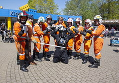 The Rogue Ones/Rebel Legion visit Legoland Star Wars Days 2018 (AdinaZed) Tags: ro rogue ones rebel legion legoland 2018 star wars day days