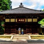 The Main Hall of Jochi-ji Temple, Kamakura : 北鎌倉・浄智寺 曇華殿(仏殿) thumbnail