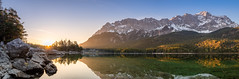 Eibsee-Pano (DaOpfer) Tags: pentaxk1 alpen bavaria bayern berg berge eibsee frã¼hling germany hdr k1 lake landscape landschaft monring morgen mountain natur nature panorama pentax see sonne sonnenaufgang steine zugspitze alps bavarianalps deutschland firstlight heimatblendede morning mountains outdoor reflection reflektion spring stones sun sunrise trees water wildlife