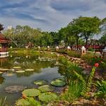 Pond in Muang Boran (Ancient Siam) in Samut Phrakan near Bangkok, Thailand thumbnail