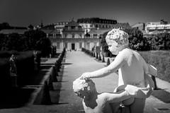 Wien 2017 - Schloss Belvedere (karlheinz klingbeil) Tags: sculpture castle schloss monochrome kunst schlossbelvedere skulptur city austria vienna österreich stadt wien at