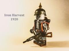 Iron Harvest 1920 German infantry. (-=Spectre=-) Tags: ironharvest minifigure custom lego althistory ww1 germaninfantry