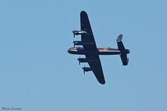 Lancaster bomber visited us (Marja S) Tags: lancaster bomber wo2 flypast netherlands fortvuren