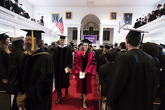 2018_0502_Senior Assembly_MS_1284 (AmherstCollege) Tags: faculty professor commencement graduation graduates seniors amherst2018 classof2018 awards seniorassembly johnsonchapel