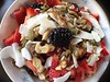 Happy Macro Monday Morning to You .... (Mr. Happy Face - Peace :)) Tags: 7dwf macromondays closeup hmm oatmeal cereal breakfast energy berrys coconut grains foodart2018 pumpkinseed strawberry blackberry walnut cranberry rasberry