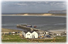 Magharority Pier, Co. Donegal. (willieguildea) Tags: harbour port boat boats ship sand beach sea bay seascape sky clouds magherority donegal ireland eire ulster nikon coastal coastalimage seaside