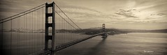 The Golden Gate Bridge 12 - The Golden Gate Bridge Pano (Oscardaman) Tags: 6x17 panoramic this iconic bridgea moment san francisco the golden gate bridge