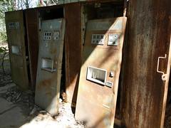 Vending machines in Pripyat (chibeba) Tags: chernobyl chornobyl exclusionzone exclusion zone ukraine radiation radiationzone holiday vacation tour daytour tourism travel may 2018 spring abandoned pripyat prypiat pripyatghosttown ghosttown abandonedtown 1980s ruins