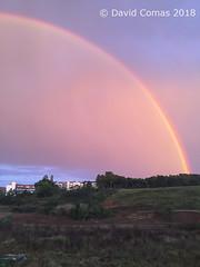 Sant Cugat del Vallès (CATDvd) Tags: appleiphone6 landscape paisaje paisatge arcdesanmartí arcoiris rainbow santcugat santcugatdelvallès march2018 catdvd davidcomas httpwwwdavidcomasnet httpwwwflickrcomphotoscatdvd catalonia catalunya