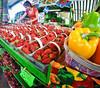 Marche Jean Talon: Strawberries (ARKNTINA) Tags: quebec quebeccanada montrealqc montrealqccanada montreal montrealcanada montrealquebeccanada northamerica urban city random6 qc17 marchejeantalon market strawberries fruits food
