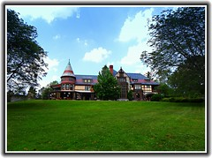 Sonnenberg Gardens & Mansion ~ Historic Park ~ Canandaigua NY (Onasill ~ Bill Badzo - 54M View - Thank You) Tags: sonnenberg gardens mansion historic park canandaigua ny ontario county onasill nrhp queen anne architecture historical building interior fireplace moose victorian style finger lakes house turrets sky clouds outdoor garden