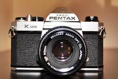 Pentax k1000 📷. #Camera  #Antique #Vintage #Retro# #Photography #Photo #Pentax #pentaxk1000 #1980s #1970s #TakenOnCanon #canon1300d  #canon (hacken1993) Tags: camera antique vintage retro photography photo pentax pentaxk1000 1980s sylvaniamagiccubes takenoncanon canon1300d canon