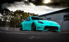 Nissan 370 Satin Key West (DUP_Automotive) Tags: 370z wrap carwrap satin key west nismo nissan jap jdm