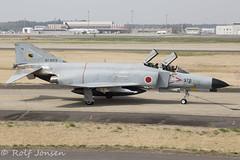 67-8378 McDonnell Douglas RF-4E Phantom Japan Self Defence force Hyakuri air base RJAH 03.04-18 (rjonsen) Tags: plane airplane aircraft aviation airside airport fighter jet military