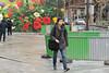 Rue Jean Poulmarch - Paris (France) (Meteorry) Tags: europe france idf îledefrance paris parispeople candid street rue streetscene ruejeanpoulmarch quaidevalmy pa100 flowers fleurs mur wall man homme guy boy teen twink male sneakers baskets trainers skets morning matin march 2018 meteorry paris10earrondissement