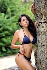 exotic me with island life (zerhounicherya) Tags: summer swimwear sexy photoshoot asian bikini model