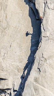 Yosemite Valley - El Capitan, Climber On The Wall_7394
