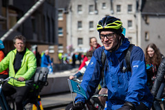 #POP2018  (142 of 230) (Philip Gillespie) Tags: pedal parliament pop pop18 pop2018 scotland edinburgh rally demonstration protest safer cycling canon 5dsr men women man woman kids children boys girls cycles bikes trikes fun feet hands heads swimming water wet urban colour red green yellow blue purple sun sky park clouds rain sunny high visibility wheels spokes police happy waving smiling road street helmets safety splash dogs people crowd group nature outdoors outside banners pool pond lake grass trees talking bike building sport
