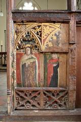 untitled (12 of 34).jpg (Vitrearum (A B Barton)) Tags: stjude carving stsimon medieval church rood apostles painting colour screen polychromy norfolk fritton
