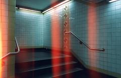 (Chris Giuliano) Tags: subway underground philadelphia concourse philly northphiladelphia lightleaks cinestill cinestill800t cinematic creepy dark underexposed city urban