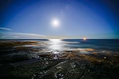 Newcastle (Bill Thoo) Tags: newcastle nsw newsouthwales australia night moon moonriver moonlight longexposure ocean sea stars milkyway rock rockpool coast coastal dark sony a7rii ilce7rm2 zeiss batış 18mm gitzo reallyrightstuff landscape travel nature scenic