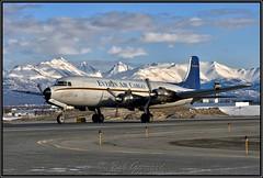 N9056R Everts Air Cargo (Bob Garrard) Tags: n9056r everts air cargo douglas dc6 ab anc panc