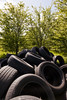 Fly Tipping In Inkerman (2) (dddoc1965) Tags: dddoc davidcameronpaisleyphotographer inkerman fields flytipping tyres asbestos rubble housewaste fergusliepark renfrewshirecouncil crime cowboybuilders waste enviroment gas canisters accidentwaitingtohappen