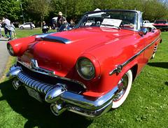 1954 Mercury Monterey convertible (D70) Tags: unrestored 236 ohv v8 merc0matic transmission power roof 34000 original miles cupe 394 car show richmond british columbia canada 1954 mercury monterey convertible nikon d750 20mm f28 ƒ90 200mm 1320 125