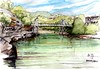 Perfect day - Sydney harbour Parsley Bay (panda1.grafix) Tags: second sydneyharbour seascape inkwash sketch