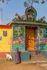 Morning prayer (davidthegray) Tags: sari kolam tamilnadu southindia hindu temple india southernindia दक्षिणभारत भारत தமிழ்நாடு தென்இந்தியா ದಕ್ಷಿಣಭಾರತ tneduncheri in