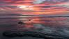 Tidal Sunset #2 (CloudRipR) Tags: moonlightbeach california southerncalifornia socal encinitas ocean beach sand rock tides reflection sky clouds sunset pink nikon nikkor d810