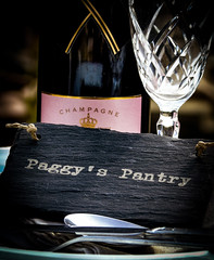 Do You Have A Reservation? (Di-Di Paget :)) Tags: challenge bottle champagne dinner supper