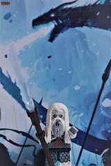 white walker (notatoy) Tags: lego game thrones dragon zombies white walker custom