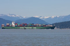 Xin Beijing At Point Atkinson (Stirrett6) Tags: cargo container englishbay ship underway