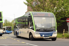 PB 20705 @ Preston bus station (ianjpoole) Tags: preston bus optare solo m950sr pn08svr 20705 working route 75 station fleetwood asda