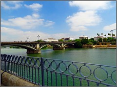 Seville (Spain) (sky_hlv) Tags: rio river rioguadalquivir guadalquivir triana sevilla seville andalucía andalusia españa spain europe europa