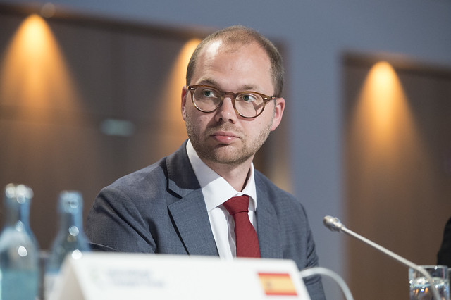 Christian Løvenbalck Haxthausen attending the Closed Ministerial session