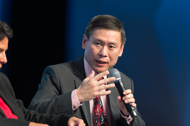 Mervyn Cheah speaks at the Plenary Session