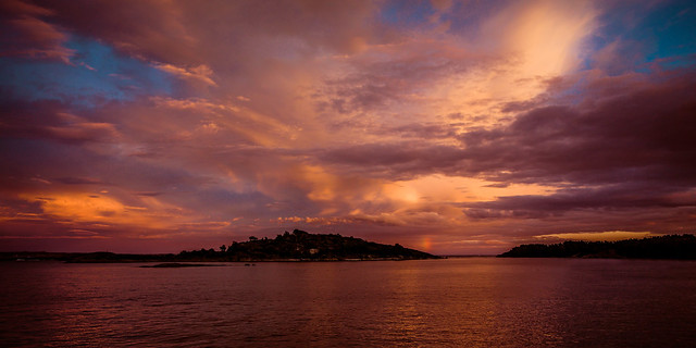 Sunset in Sandefjord