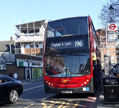 Go-Ahead London General E11 SN06BNV | 196 to Elephant & Castle (Unorm001) Tags: red london double deck decks decker deckers buses bus routes route diesel e11 196 sn06 bnv sn06bnv e 11