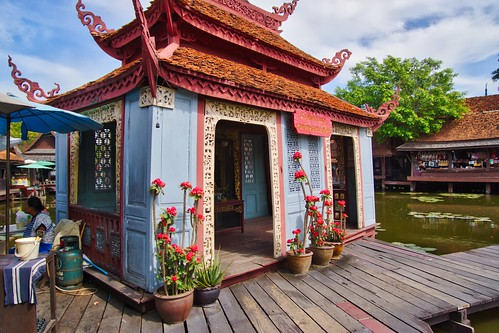 Muang Boran (Ancient City) open air museum in Samut Phrakan province near Bangkok, Thailand