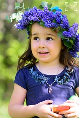 Portrait: The spring in you: Sanya - the little fairy (renkata23) Tags: girl portrait flowers little fairy cute sweet child kid people spring beautiful nikon bulgariangirl