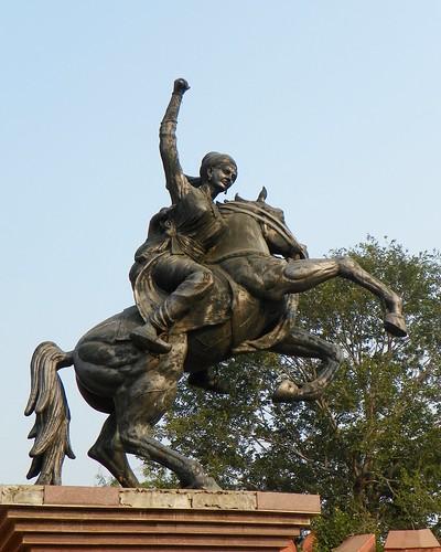 Agra 67 - Rani Laxmibai Statue