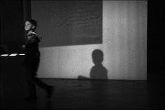 innocence (bostankorkulugu) Tags: pirelli hangarbicocca bicocca milano italia milan italy lombardia art artwork pirellihangarbicocca fromsourcetopoemtorhythmtoreader exhibition rosabarba kid child shadow noice grain boy light