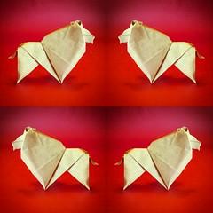 Leone - Luigi Leonardi (Stefano Borroni (Stia)) Tags: origami leone zodiaco paper carta piegarelacarta origamilove cdoitalia arte animali natura leon lion papiroflexia cdo