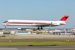 OY-RUT McDonnell Douglas MD-82 (DC-9-82) Danish Air Transport (DAT) (Andreas Eriksson - VstPic) Tags: danish955 from billund its first charter flight since joining danish air transport former ismes with meridiana oyrut mcdonnell douglas md82 dc982 dat